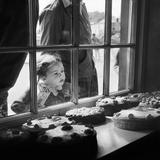 Cake Shop, Padstow, Cornwall, 1946-59 Gicléedruk van John Gay