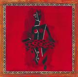 Danza tribal II Lámina giclée por  York