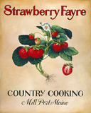 Strawberry Fayre Giclee Print by Isiah and Benjamin Lane