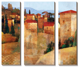 Tuscan Hillside Poster by Keith Mallett