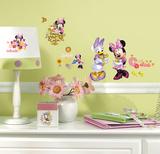 Mickey & Friends - Minnie Mouse Barnyard Cuties Peel & Stick Wall Decals Veggoverføringsbilde