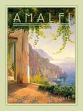 Amalfi Impressão fotográfica por  The Vintage Collection