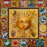 Astrology II Reproduction procédé giclée par  Douglas