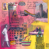 Fifth Avenue Giclee Print by Martine Rupert