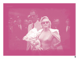Marilyn Monroe IX In Colour Giclee Print by  British Pathe