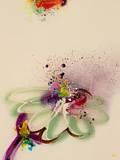 Floral Mist II Giclee Print by  Leila