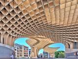 Metropol Parasol Building Fotografisk trykk av Felipe Rodriguez