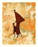 Masai Mara II Gicléedruk van Robin Anderson