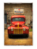 Red Truck Photographic Print by Craig Satterlee