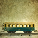 Pullman Fotografisk trykk av Bernard Jaubert