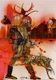 Farenheit 451 Prints by Ralph Steadman