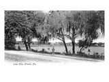 Orlando, Florida - Lake Eola View Poster by  Lantern Press