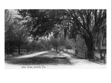Orlando, Florida - View Down West Street Prints by  Lantern Press