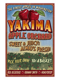 Yakima, Washington - Apple Orchard Pósters por  Lantern Press
