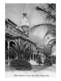 Tampa, Florida - Tampa Bay Hotel Main Entrance View Poster par  Lantern Press