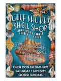 Gulf Shores, Alabama - Shell Shop Poster von  Lantern Press