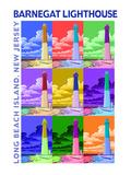 Barnegat Lighthouse, New Jersey Shore Pósters por  Lantern Press