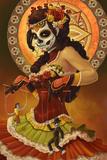 Day of the Dead - Marionettes Kunstdrucke von  Lantern Press