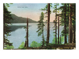 Lake Tahoe, California - View of Fallen Leaf Lake Poster von  Lantern Press