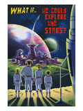What If We Could Explore the Stars Posters par  Lantern Press