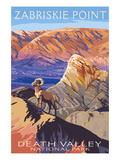 Zabriskie Point - Death Valley National Park Láminas por  Lantern Press