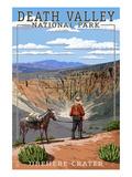 Ubehebe Crater - Death Valley National Park Pôsteres por  Lantern Press