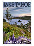 Lake Tahoe, California - Emerald Bay Prints by  Lantern Press