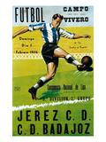 Futbol Promotion - Campo Del Vivero Kunstdrucke von  Lantern Press