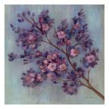 Twilight Cherry Blossoms II Giclée-Premiumdruck von Silvia Vassileva