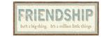 Friendship Premium Giclee Print by  Pela