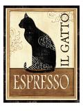 O gato, em italiano Impressão giclée premium por Veronique Charron