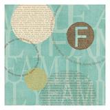 Circle of Words Posters por Veronique Charron