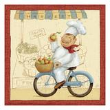 Chef's Market II Plakater av Daphne Brissonnet