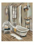 French Bath II Giclée-Premiumdruck von Silvia Vassileva