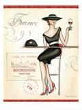 Wine Event III Premium Giclee Print by Andrea Laliberte