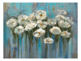 Anemones by the Lake Premium Giclee Print by Silvia Vassileva