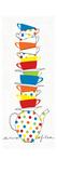 Stacks of Cups I Giclée-Premiumdruck von Avery Tillmon
