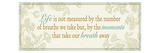 Life is not measured... Impressão giclée premium por  Pela