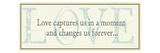 Love captures us Premium Giclee-trykk av  Pela Design