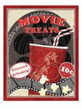 At the Movies II Impressão giclée premium por Veronique Charron