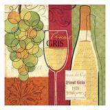 Wine and Grapes II Pôsters por Veronique Charron
