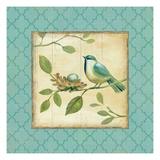 Birds Home II Kunstdruck von Daphne Brissonnet