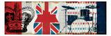 British Invasion II Premium Giclee Print by Mo Mullan