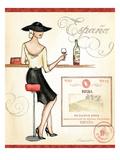 Wine Event I Giclée-Premiumdruck von Andrea Laliberte