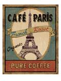 Coffee Blend Label II Premium Giclee-trykk av Daphne Brissonnet