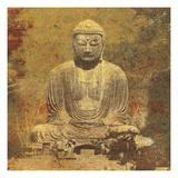 Buddha Statue, Kamakura Japan Premium Giclée-tryk af Hugo Wild