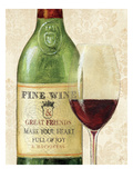 Wine Quotes I Posters av Daphne Brissonnet