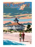 Boca Grande, Florida - Lighthouse Poster par  Lantern Press