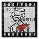 Lights Camera Action Plakater af Hugo Wild