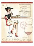 Wine Event II Giclée-Premiumdruck von Andrea Laliberte